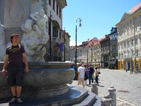 Ljubljana régi városrész