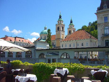 Ljubljana belváros