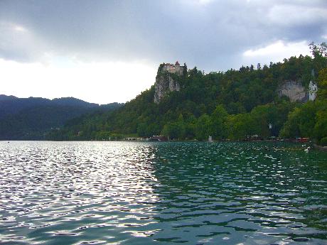Bled: tó és vár