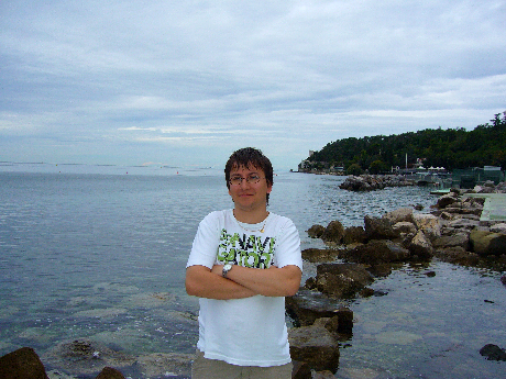 A nyílt tenger Miramare-nál